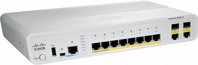 Коммутаторы Catalyst 2960 Cisco WS-C2960C-12PC-L - интернет-магазин kxtd.ru
